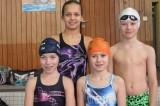 Die L3 mit hinten von links Sarah Pflüger, Alexander Meng, vorne Mona Maurer und Nicole Carmosin.