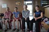 Von links Julia Drung, Nicole Carmosin, Emma Schmiedefeld, Amelie Wahl
