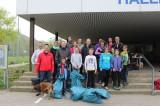 Wald-Putzete-Team der Wasserfreunde